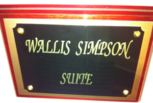 The Wallis Simpson Suite