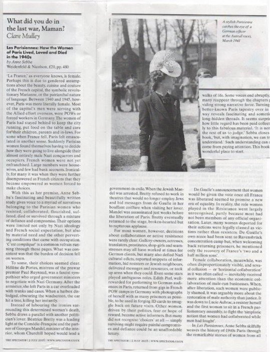 Les Parisiennes The Spectator Review