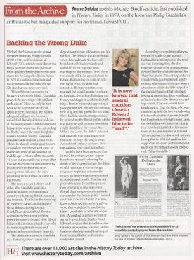 Backing The Wrong Duke