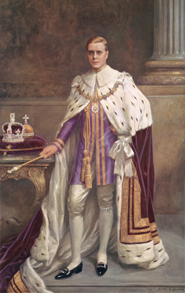 King Edward VIII - Mary Evans Picture Library/ILN