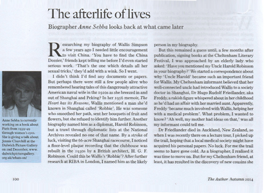 The Afterlife of Lives