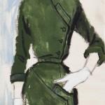 Brian Stonehouse The Green Dress c 1955